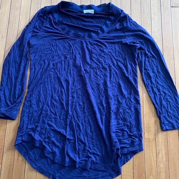 Maison Jules XS 3/4 Sleeve Shirt EEUC